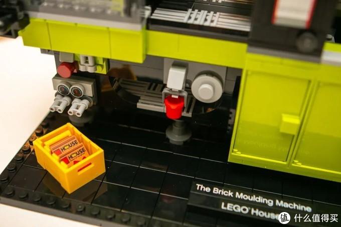 乐高推出新LEGO House限定套装40502积木注塑机