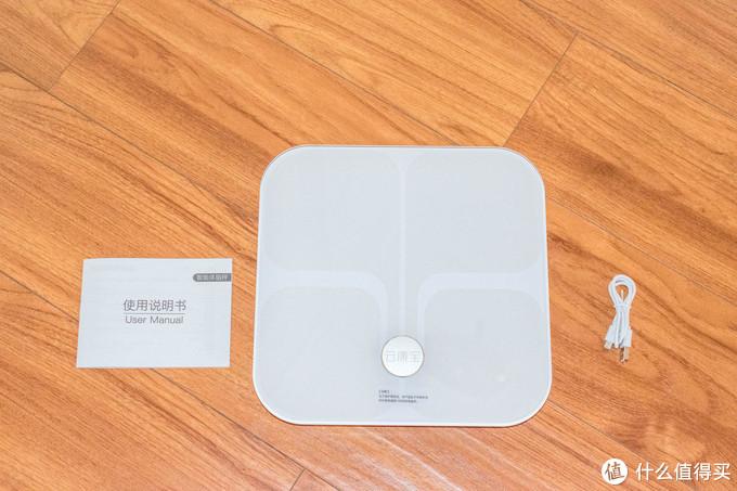 内置电池,精准测脂-云康宝 智能体脂秤WiFi+蓝牙双连接 CS20L 开箱简评