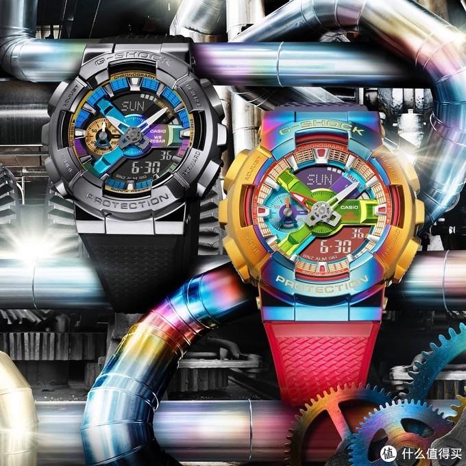 盘点那些拥有彩虹的手表们——卡西欧篇