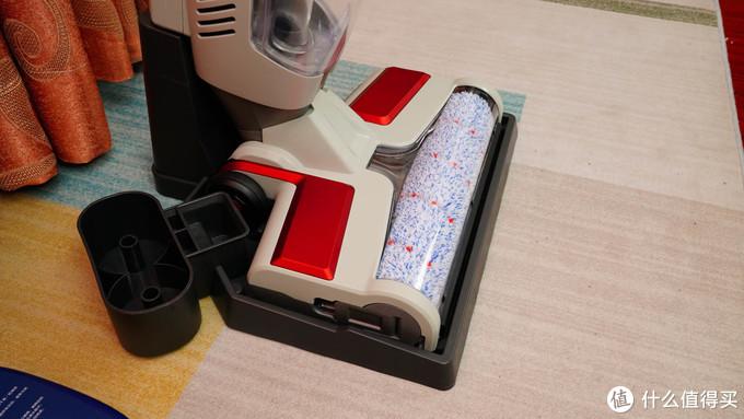 湿拖自洗,干湿分离--蓝宝无线洗地机,测了