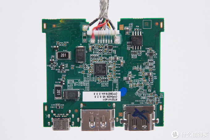拆解报告:DELL戴尔Type-C三合一多功能扩展坞