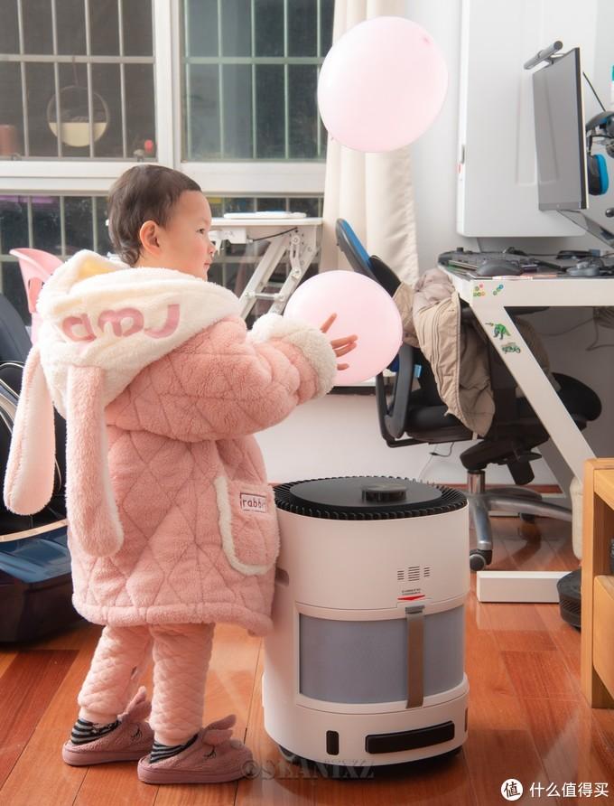 2021年适合全屋净化的解决方案——科沃斯沁宝AVA空气净化机器人