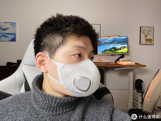 将新风机戴脸上什么体验?自在呼吸——飞利浦 ACM066 电动新风口罩