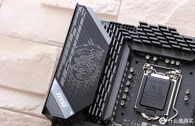 有料有颜!微星MPG Z590 GAMING CARBON WIFI 主板赏析