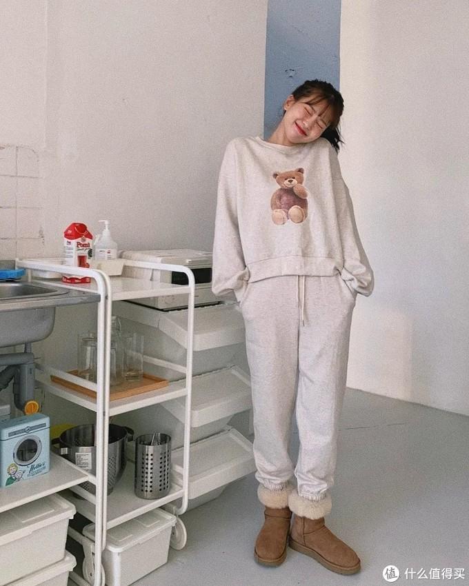 厚外套+豆腐裤=早春进阶穿搭,温暖又时髦, 怕冷星人别错过!