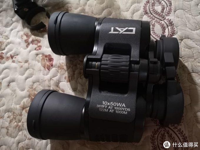 博冠波斯猫CAT 绣虎10x50 双筒望远镜开箱测评(158包邮送手机支架)