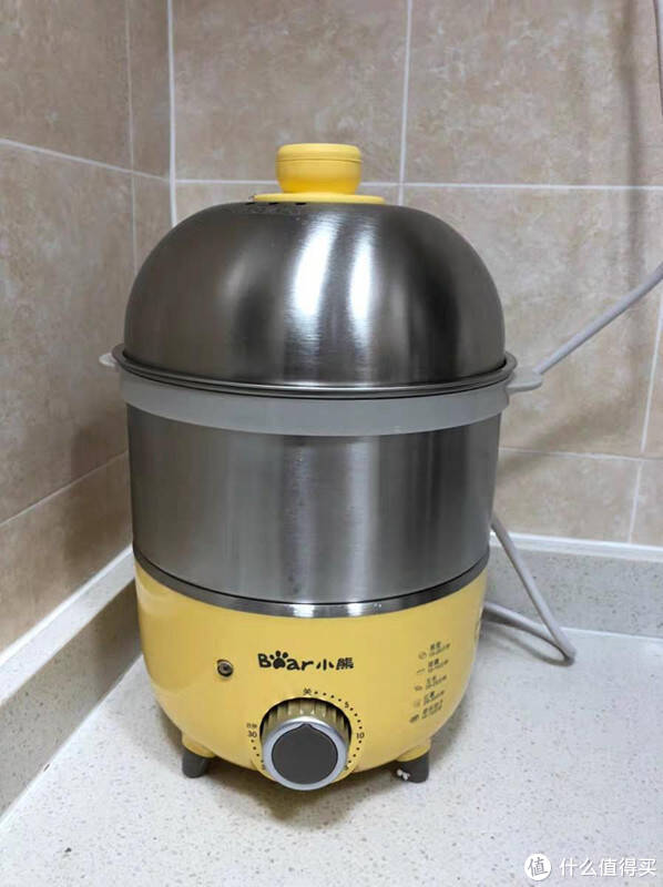 轻松煮出美味食物,小熊煮蛋器评测