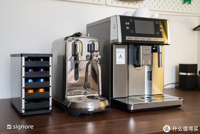 胶囊收纳盒、Nespresso Creatista Plus、DēLonghi ESAM6900.M
