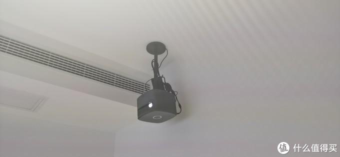 投影仪吊顶(装修时预留了五孔插座)