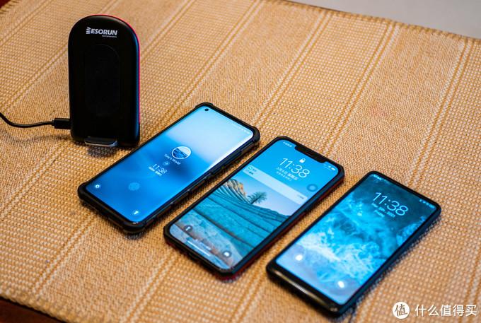 拿出家里常用的几个手机来试一下:小米10 Ultra、iPhone12 Pro Max、小米 MIX2S。