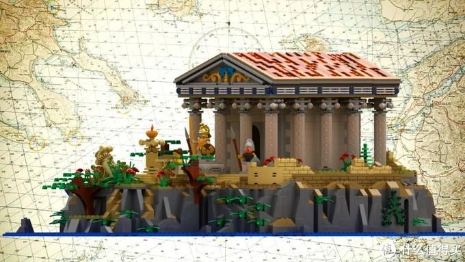 乐高Ideas作品古希腊神庙获得10000票支持!本期入审作品已达35个!