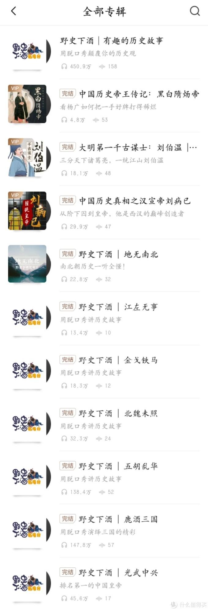 最近常听的中文博客节目