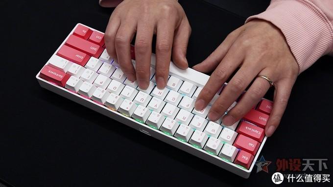 新贵GM610蓝牙双模无线键盘评测:身材虽小,功能不少