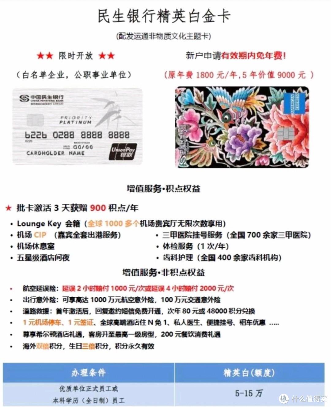 民生精英白金信用卡,民生香港账户,民生消费贷款,优惠多多,欢迎电话咨询