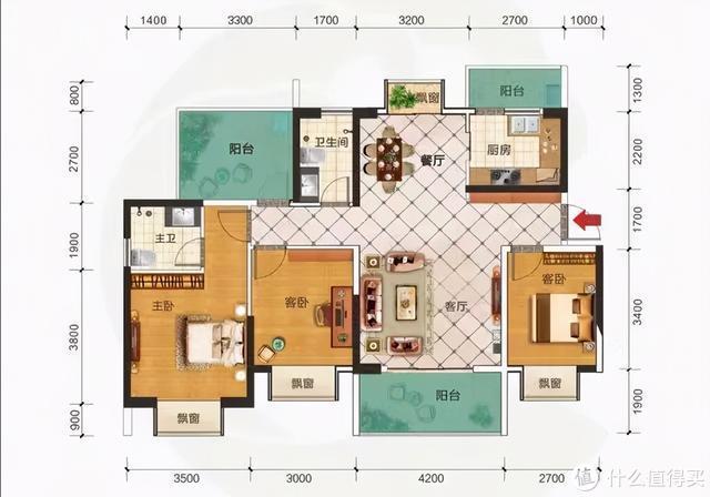 房子好不好关键看户型!国内常见户型鉴析,看看你家户型值多少分