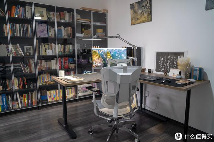 花1K组装6K的全能书桌,媳妇的书房全展示,练字、游戏、瑜伽、午睡、锻炼全搞定