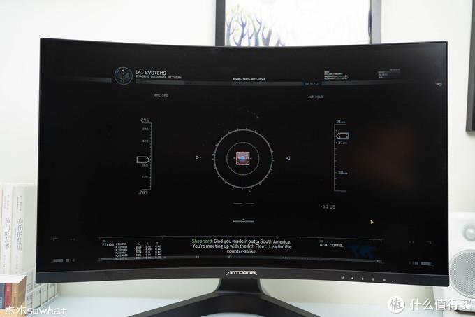 颜值也是战力——蚂蚁电竞宇航家ANT27TQC显示器体验