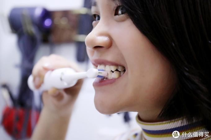 百元价位电动牙刷也能让牙齿亮白又舒适,博皓翎羽电动牙刷体验