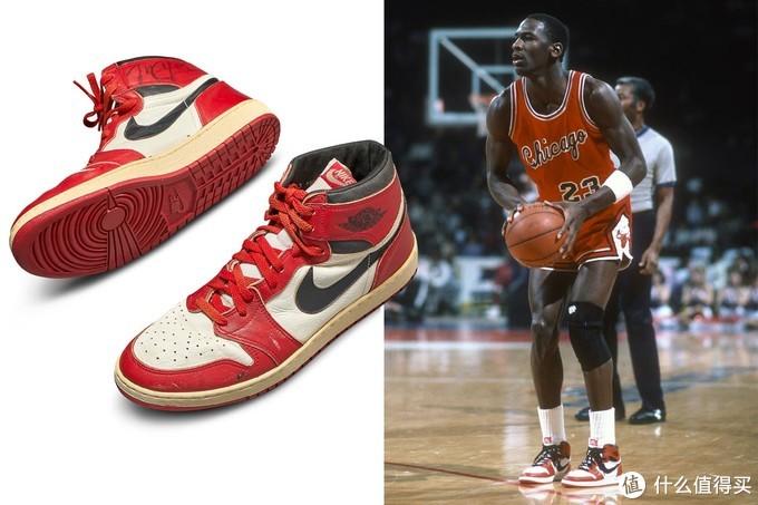 2020年5月,迈克尔·乔丹签名的第一双Air Jordan运动鞋,在苏富比以创纪录的56万美元天价拍卖成功
