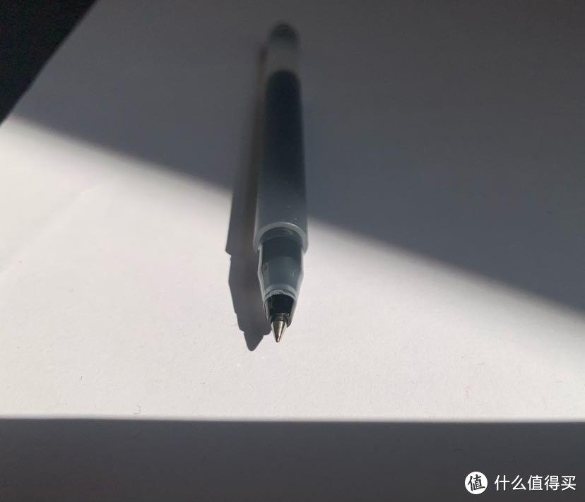 小米巨能写中性笔简单开箱上手