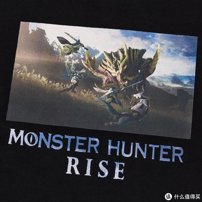 猛汉集会所:怪物猎人崛起联名UT公开,本田翼参演新作广告
