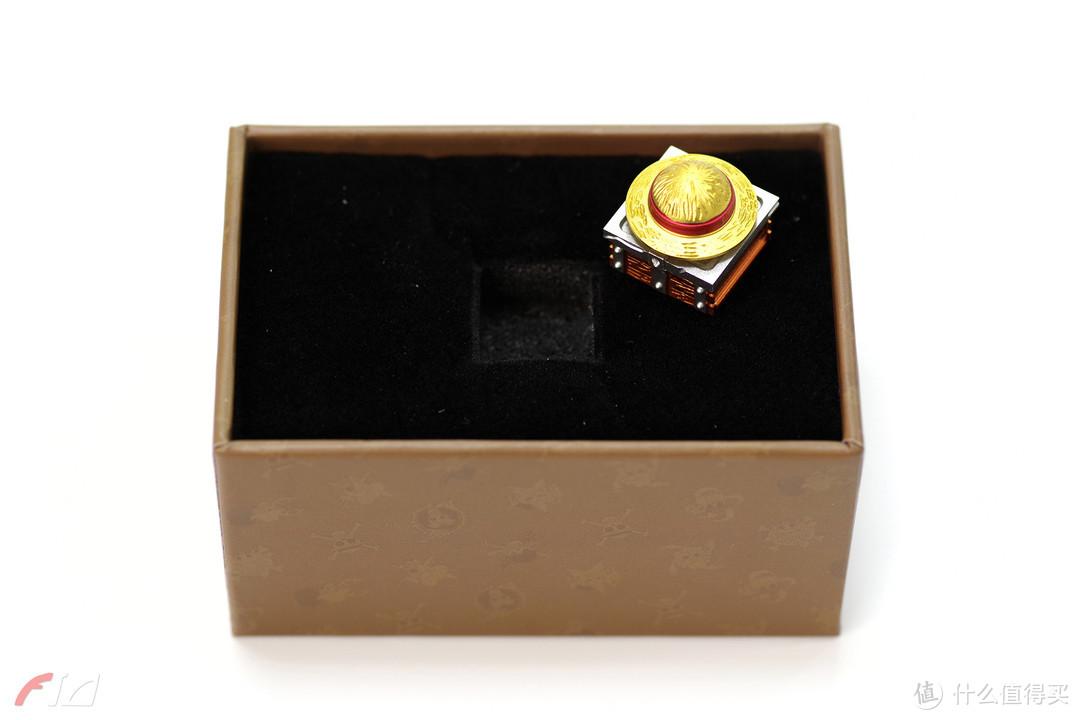 草帽与宝藏 | ZOMO 海贼王路飞草帽立体金属键帽