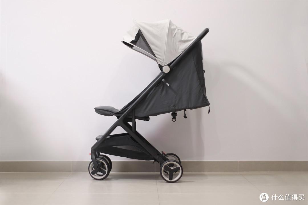 高景观外的二奶伞车首选,绝版的米兔折叠婴儿推车开箱