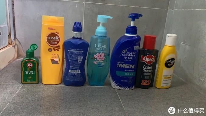 以此纪念我曾用过的多种洗发水!!!其实远不止这些!脱发之路漫漫何其修远