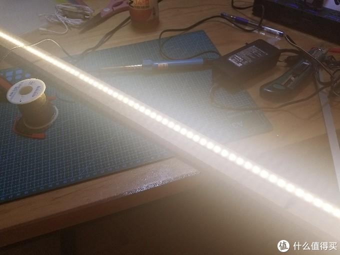 diy手扫感应LED灯条
