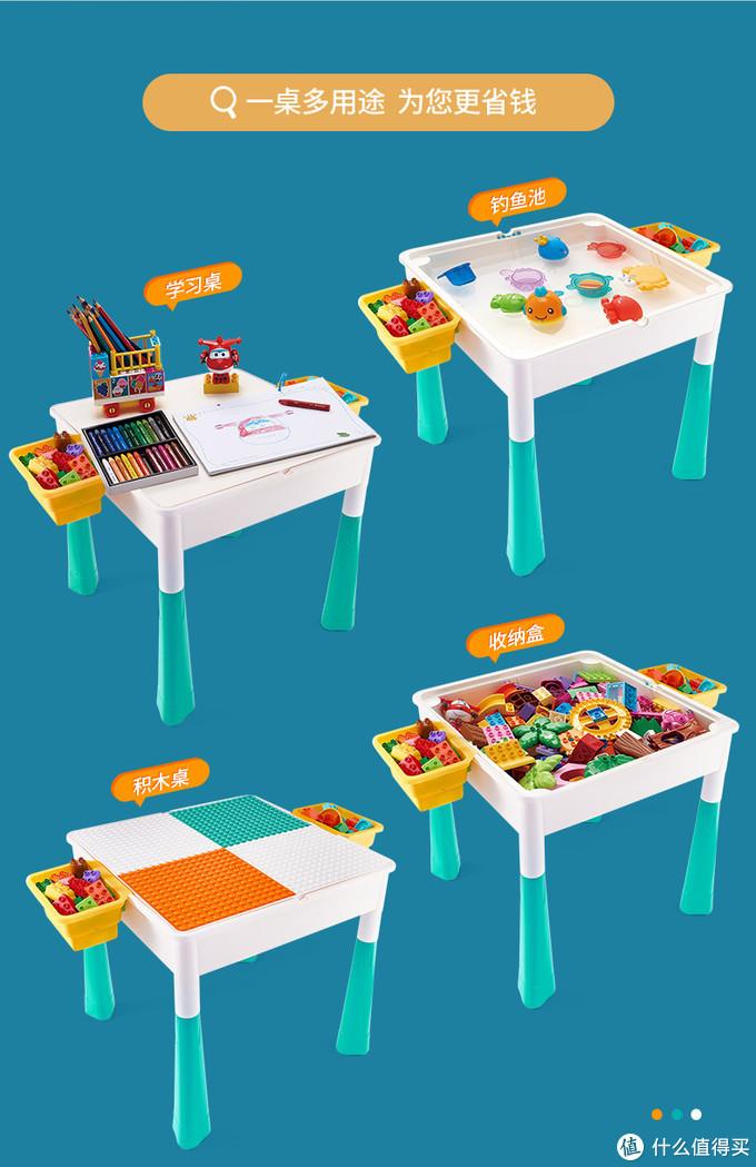一桌多用。