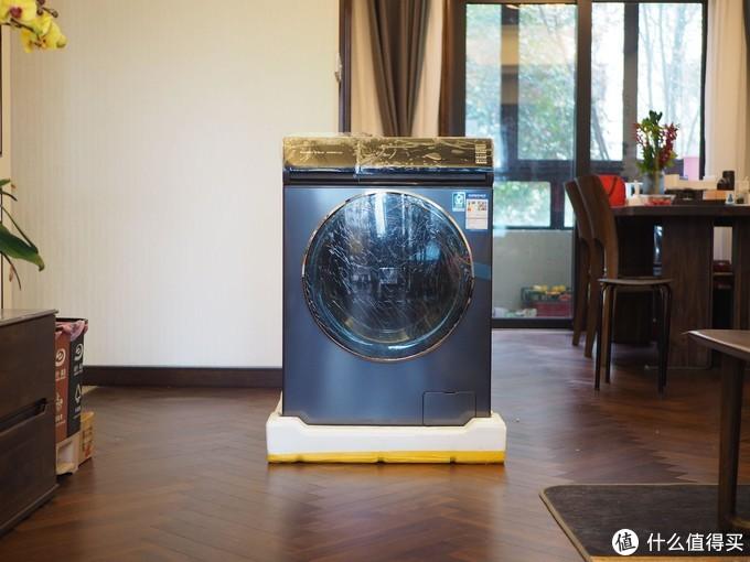 """""""新风速烘""""黑科技来袭,烘干效率翻倍——云米旗舰级洗烘一体机上手体验"""