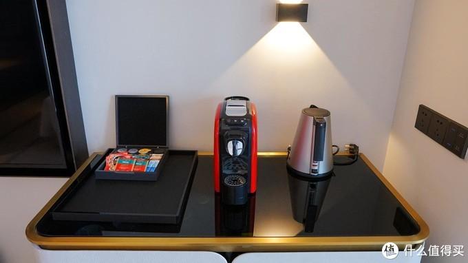 房间标配胶囊咖啡机