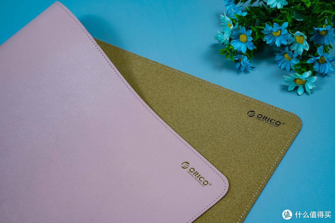 入手奥睿科软木皮革情侣双面鼠标垫,环保