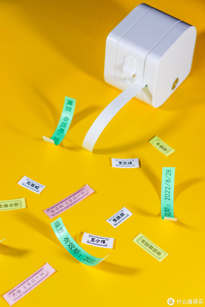 超能打的收纳整理好帮手!小标彩虹标签机体验评测
