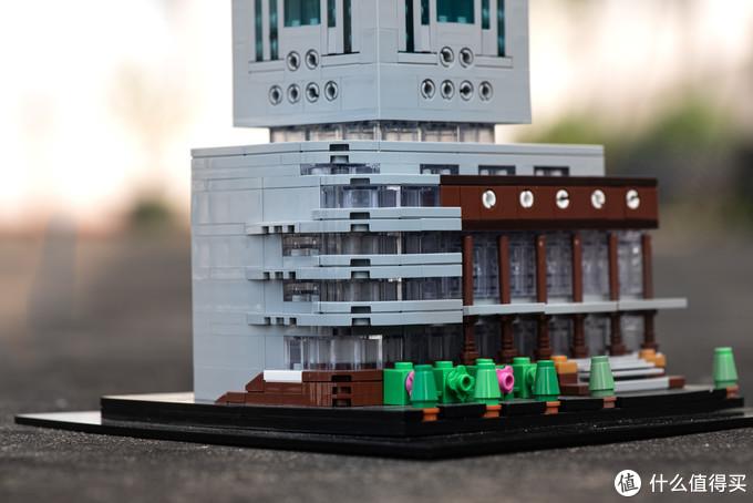 定制积木 用积木还原电信大厦 东山口闹市区里的高楼
