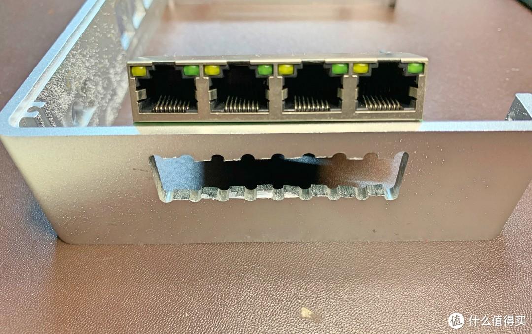 时空魔盒小主机 爆改5千兆软路由 迷你PCIE转PCIE 插4千兆网卡方案