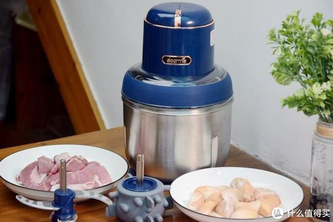 碎食料理不求人,德尔玛无线大马力套娃绞肉机,助爱妻轻松下厨