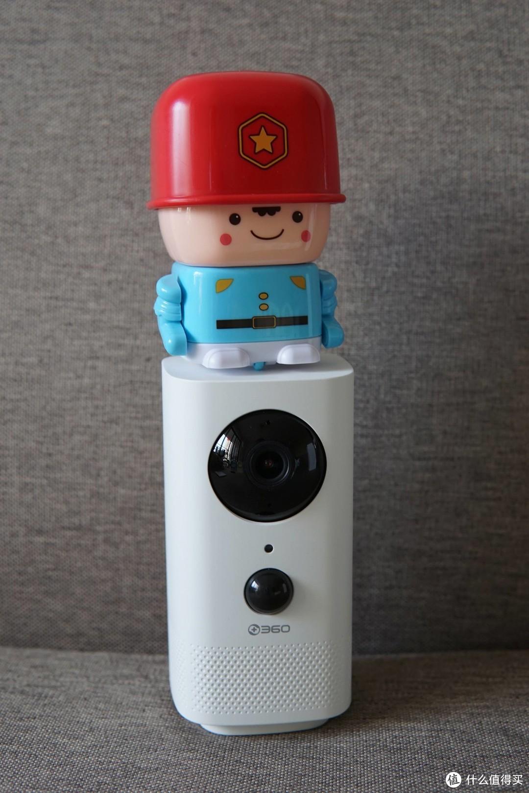 白天看娃,晚上看家,360智能摄像头云台电池版使用体验