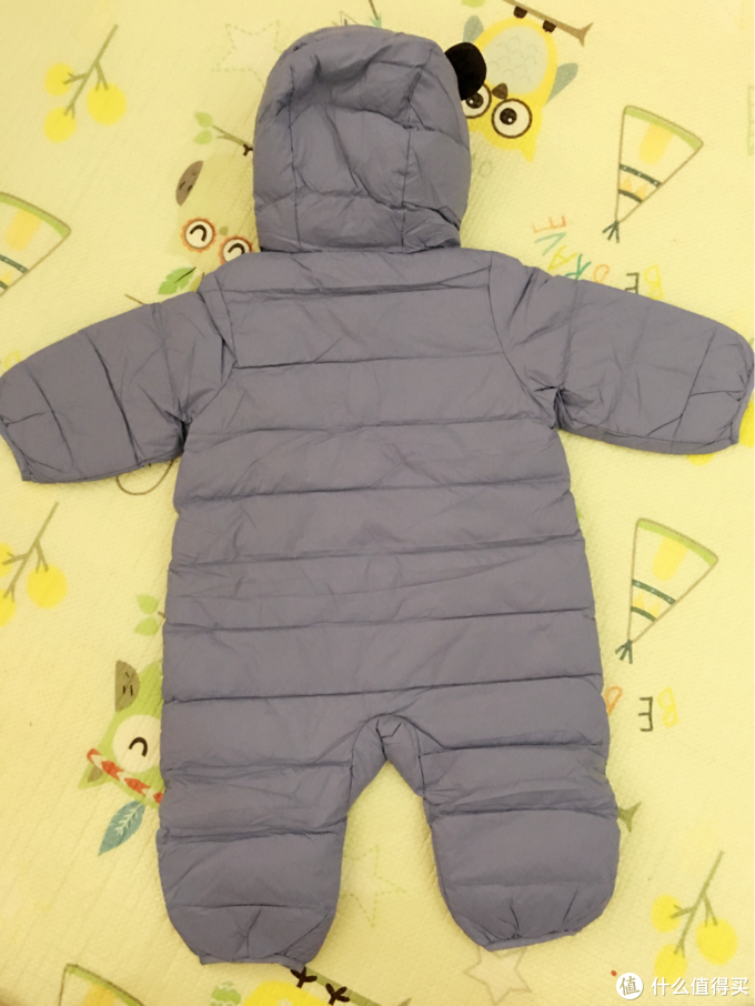 冬天宝宝外出必备  巴拉巴拉轻薄连体羽绒服