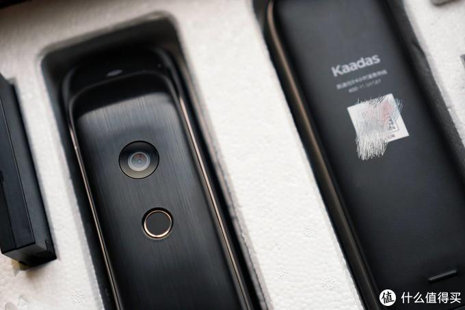 C级锁芯+可视猫眼 安全感十足 凯迪仕K20-V智能指纹锁