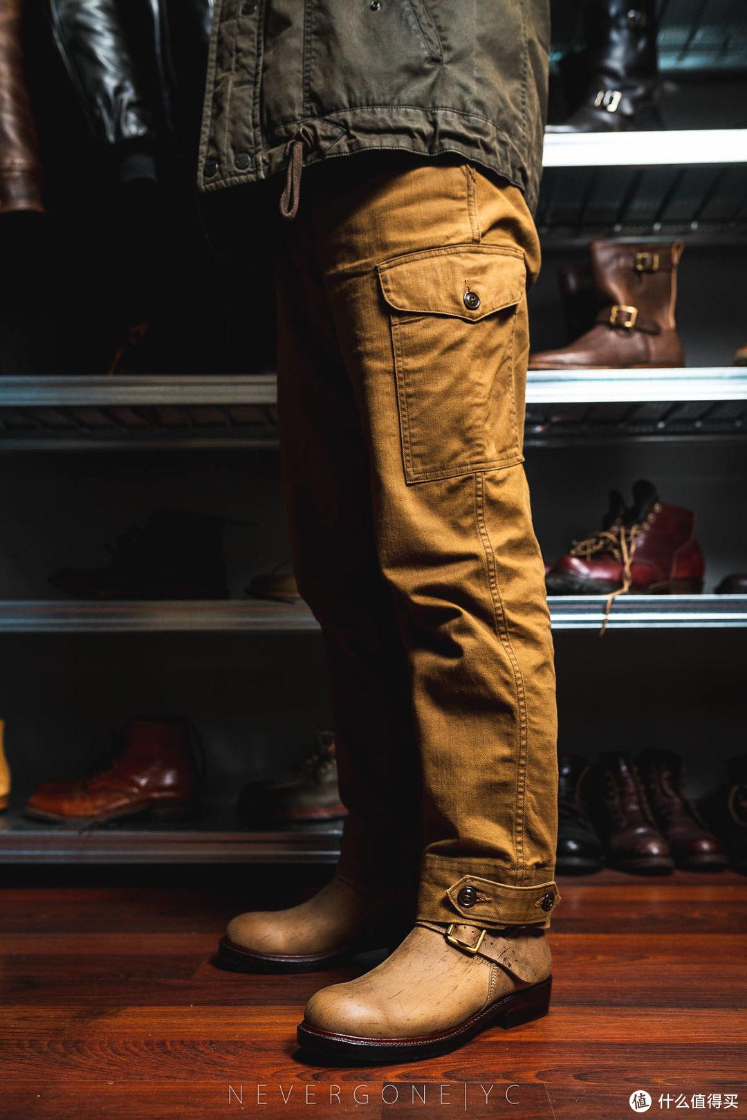 一条另一种颜色的好裤子:FreeWheelers Aviators Trousers