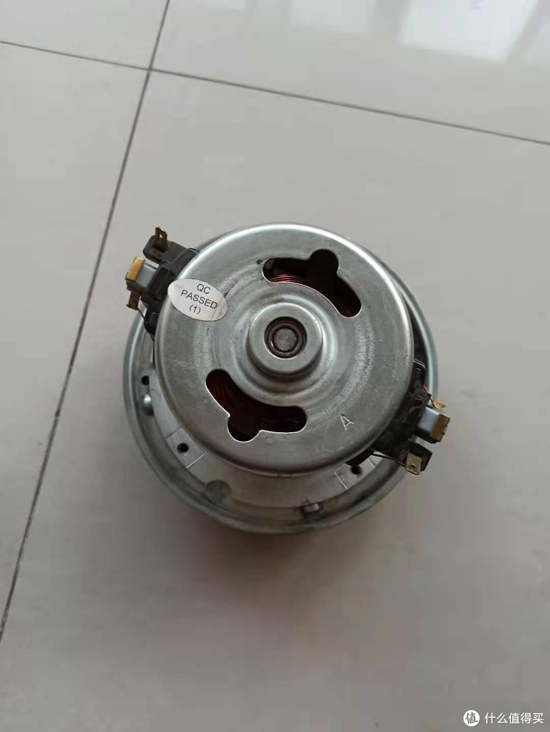 吸尘器拆剩的电机
