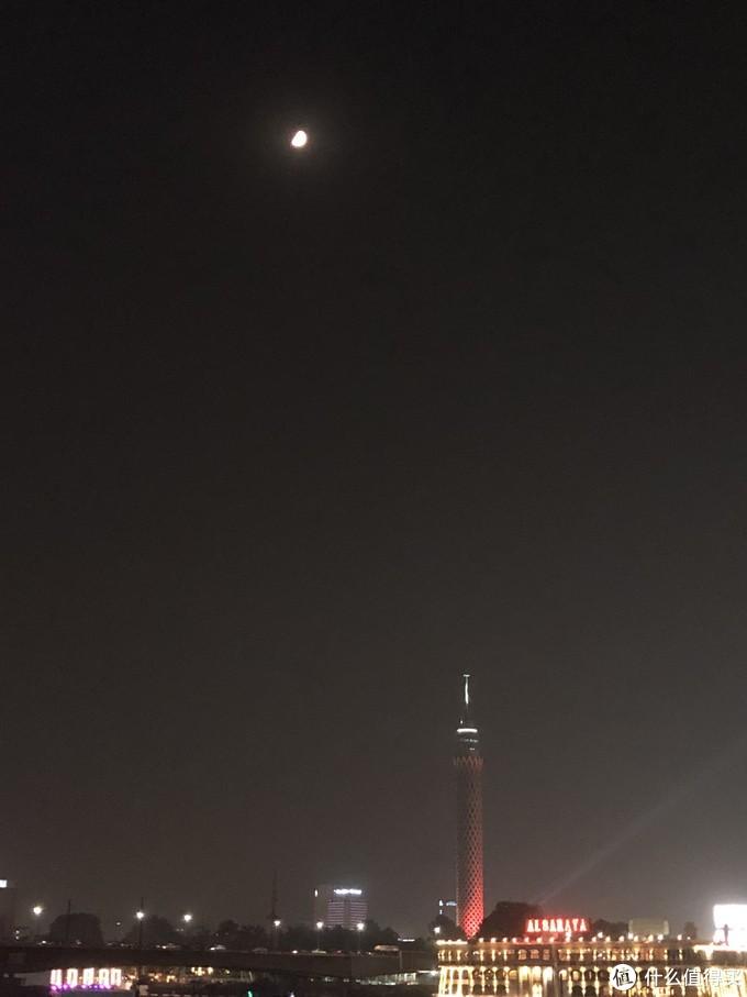 尼罗河的月