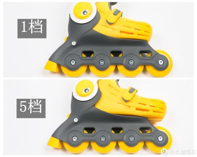 造型卡通,有趣好玩:柒小佰小怪兽儿童轮滑鞋套装使用评测