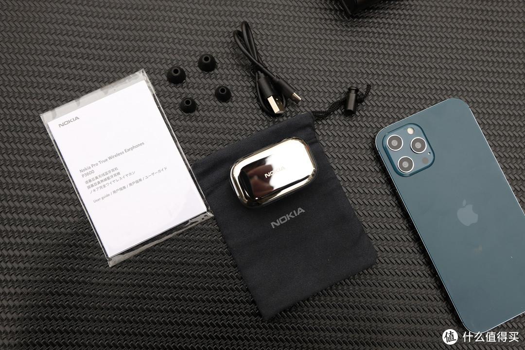 是情怀追忆还是满满诚意,诺基亚(NOKIA)P3600真无线蓝牙耳机入手评测