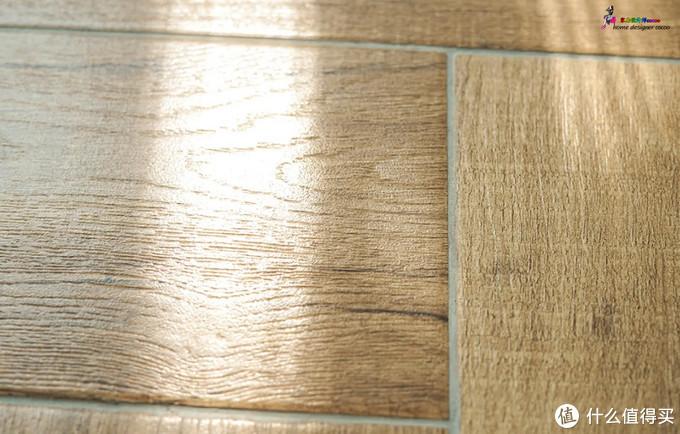 ▲木纹砖填缝
