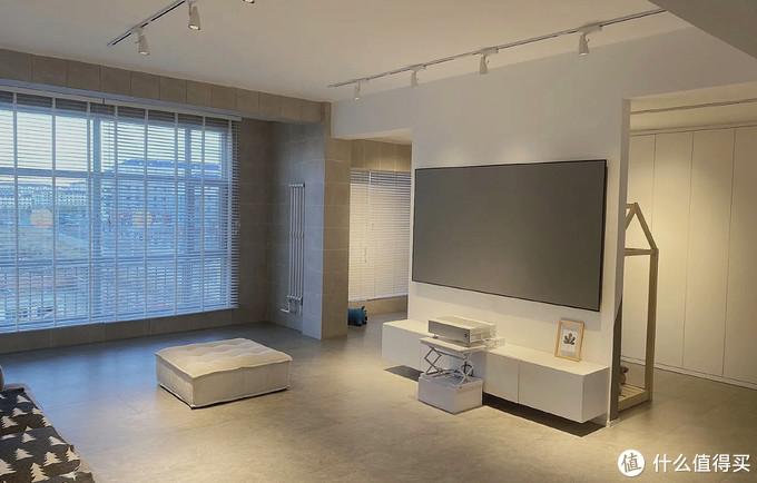 ▲大白电视墙