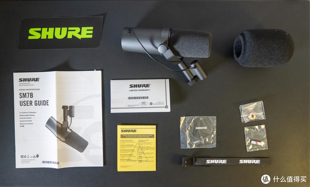 Shure SM7B Open Box