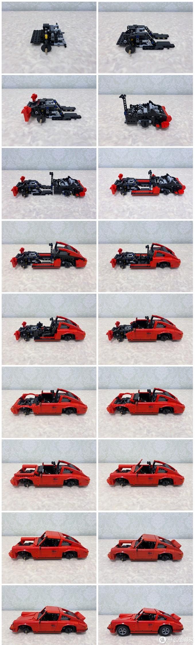 大师系列又出新作,来自MOC大神的保时捷911复古跑车