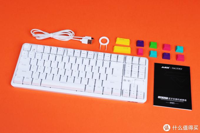 300元以内,RGB灯效+滚轮键,黑爵K870T我的第一款机械键盘